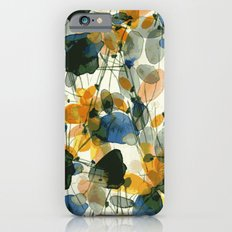Whimsical folk abstract art iPhone 6s Slim Case