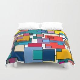 Color Blocks #7 Duvet Cover