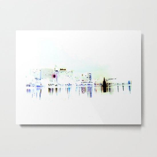 white harbor V. Metal Print