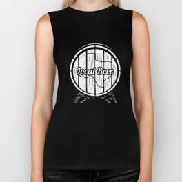 Texas Craft Beer gift Gift for Local TX Drinkers, Drink Local, Brewing Gift for Brewers and Hops Biker Tank