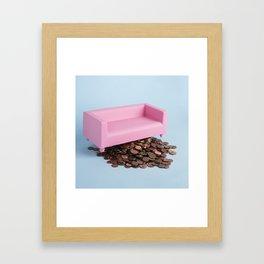 Pennys I've lost Framed Art Print
