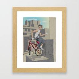 High Stuntin' Framed Art Print
