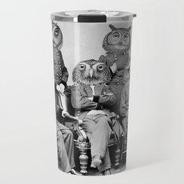 Owls of the Republic Travel Mug