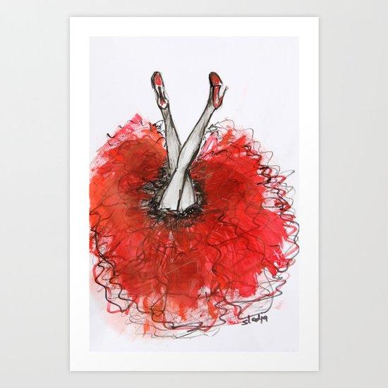 Olala Art Print
