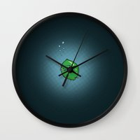 sublime Wall Clocks featuring Sublime by Zach Terrell