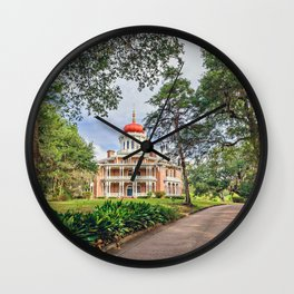 Octagon House - Longwood in Natchez Wall Clock