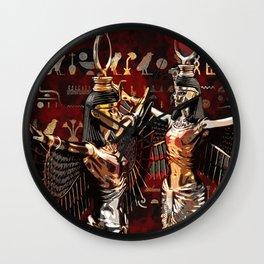 Isis - Goddess of Egypt Wall Clock