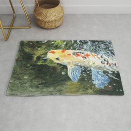 Lucky Bubbles by Teresa Thompson Rug