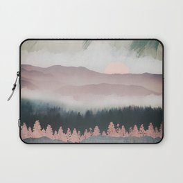 Forest Lake Evening Laptop Sleeve