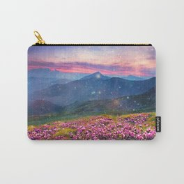 Blooming mountains Carry-All Pouch