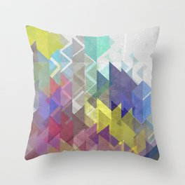 Lovely Triangle No. 2 Throw Pillow