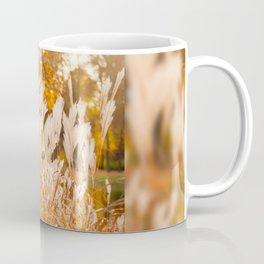 Detail of Miscanthus ornamental grass Coffee Mug