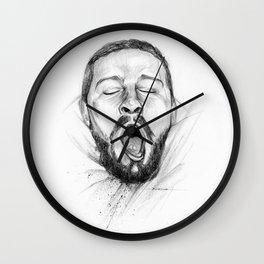 Yawn of Shia Wall Clock