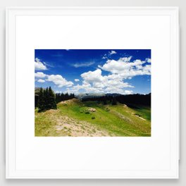 Mountains 6 Framed Art Print