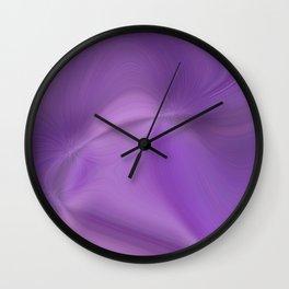 Purple daze 8 Wall Clock