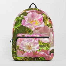 Sun Soaked Roses Backpack