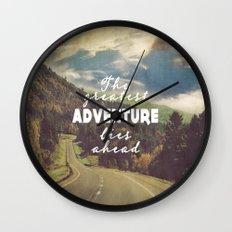 The Greatest Adventure Wall Clock