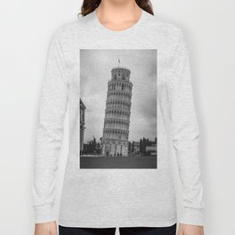 Leaning Tower Pisa Long Sleeve T-shirt