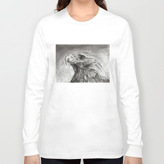 Eagle pencil drawing Long Sleeve T-shirt