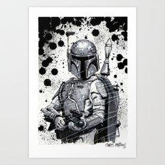 Boba Fett: Bounty Hunter Art Print