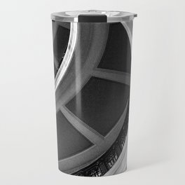 Semi circles Travel Mug
