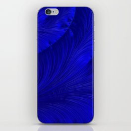Renaissance Blue iPhone Skin