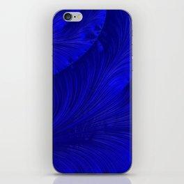 Renaissance Blue iPhone Skin