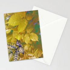 leaves evolved 1 Stationery Cards