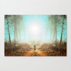 Finding Canvas Print