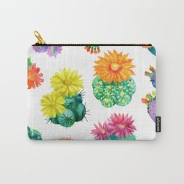 Watercolor cactuses Carry-All Pouch