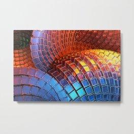 Waveform Metal Print