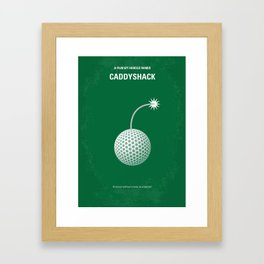 No013 My Caddyshack MMP Framed Art Print