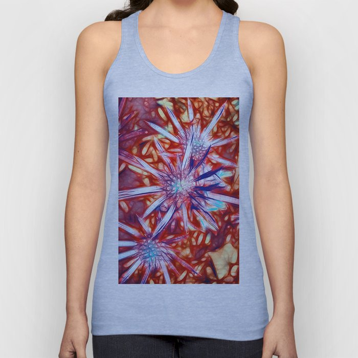 Star Bright in Red Unisex Tank Top