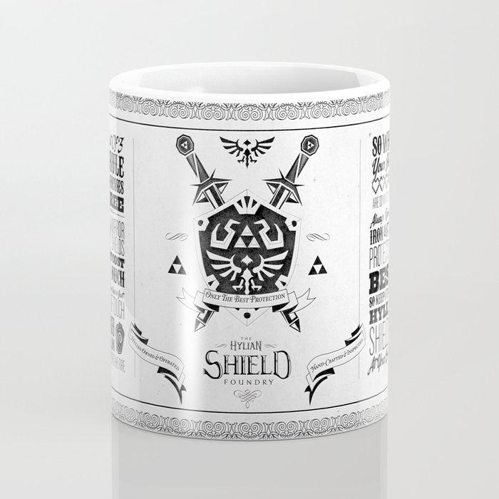 Legend of Zelda - The Hylian Shield Foundry Coffee Mug