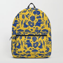 Pattern - forest party Backpack