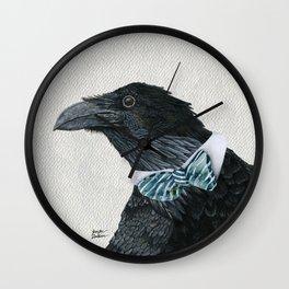 Raven Croft Wall Clock