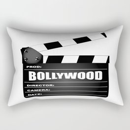 Bollywood Clapperboard Rectangular Pillow