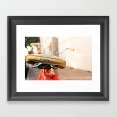 Found ~ in the Mission Framed Art Print