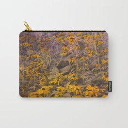 Yellow Jungle Carry-All Pouch