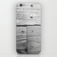 wooden iPhone & iPod Skins featuring WOODEN  by mark jones