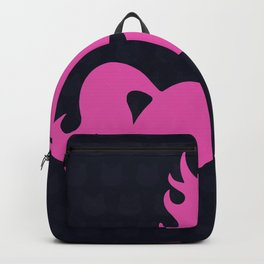 Visible Invisible Pink Unicorn Backpack