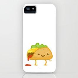Happy Taco iPhone Case