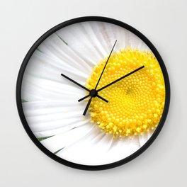 Daisy Flower Close-Up #1 #art #society6 Wall Clock