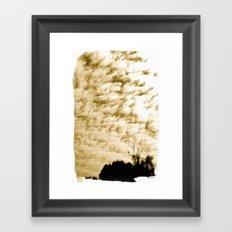 Gold 2 Framed Art Print