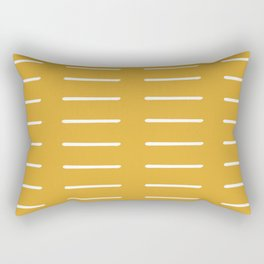organic / yellow Rectangular Pillow