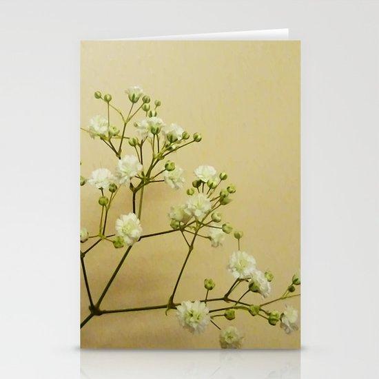 Gypsophelia Stationery Cards