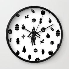 Little Forest  Wall Clock