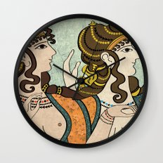 Ladies of the court Wall Clock