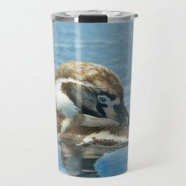 Humboldt penguin (Spheniscus humboldti) Travel Mug