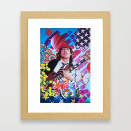 Angus Young Framed Art Print